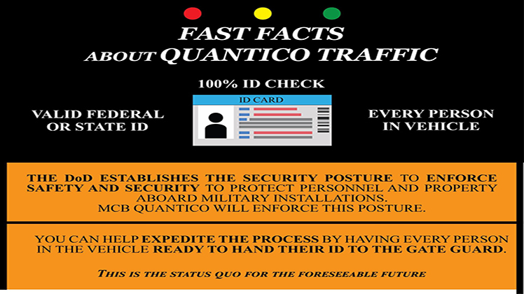 Fast Facts about Quantico Traffic